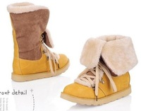 2013 Autumn And Winter Fashion Women's Shoes+ Platform Snow  Flat Heel  Shoes+Plus Size Snow  Boots