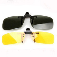 Polarized Lenses Night Sun Sunglasses For Men Women Colored Driving Short Sight Lenses Clip Clamp Glasses Sunglasses For Eyes