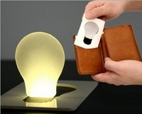 Novelty Items Emergency LED Card Lights Pocket Wallet Size Credit Cards LED Bulb Light Puzzle Lamp Doulex