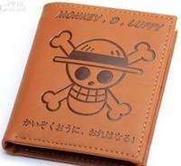 Free shipping pirate king straw hat pirate group cartoon man purse