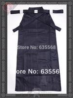 High Quality Navy Blue Kendo Iaido Aikido Hakama Martial Arts Uniform Sportswear Kimono Dobok Free Shipping