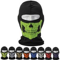 Distinctive Styles of Windproof Skull Mask Balaclava Hood Full Warm Neck Face  Mask for Riding& CS field training Free shipping