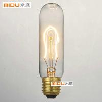 Free Ship,Promotion Wholesale Items,Fashion Incandescent  Edison Bulb E27/220V/40W 33*130(mm),Antique Vintage Edison light Bulbs