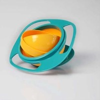 New Arrival Children Kid Baby Toy Universal 360 degree Rotate Spill-Proof Bowl Dishes Free shipping  0066