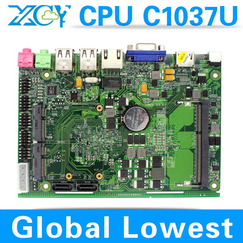 In Stock !!! micro atx mainboard fanless mini itx motherboard XCY X-26x mini computer hdmi Chipset Intel NM70(China (Mainland))