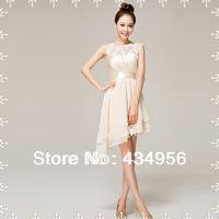 2013 New Arrive Beautiful And Sexy Sweetheart Short And  Beading Prom Party Dress SL35