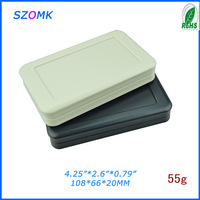 1 0  pieces a lot  electric junction box / electronic enclosure  108*66*20 mm  4.25*2.6 *0.79 inch  small plastic box