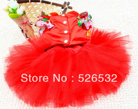 Free shipping new style pet dress dog clothes pet dress skirt wedding dress pets