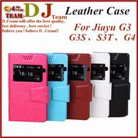 Free shipping Jiayu G3C flip Case For jiayu F1 F2F G4S G5S
