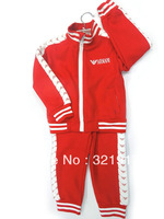 New Arrival 5sets/lot Newest Spring Autumn Top+Pants 2pcs set Baby Sports Sets Baby Costumes 3Colors