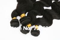 Best selling 100% human hair extensions,50g/pc 6pcs/lot, Wavy Brazilian hair, Virgin Hair weave, body wave human hair weaving