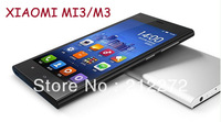 Original  XIAOMI MI3/M3 New model  Android phone -5.0 '' Quad Core 2G RAM wifi 13.0Mp 1920*1080 xiaomi mi3 free shipping