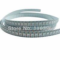 5v input smd 5050 rgb led addressable ws2812b ws2811 strip 144 pixel/m full color led light;white pcb;2m/roll
