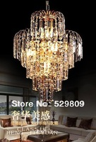 Free shipping modern crystal chandelier,400*600*300mm bedroom lamps living room lights