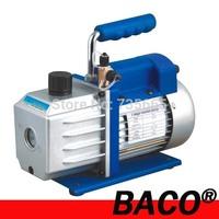 Single Stage 2.5 CFM Vacuum Pump 220v with 1/4 HP Rotary Vane Laboratory Vacuum Pump at 5pa