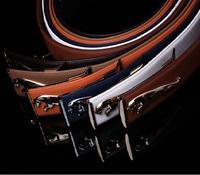 2013 Jaguar Belt Leather Male Smooth Buckle Cowboy Belts New Trendy Fashion Brand Belt 7Colors