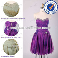 Wholesale Cheap Sexy Short Real Sample Party Dress Beading Taffeta Cocktail Dresses Under 100