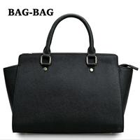 2014 NEW Brand Designer Women Genuine Saffiano leather shoulder Handbag tote bag REAL cowhide Fashion Trends girl R149