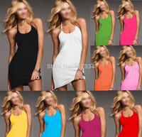 women dress skirt sexy bikini beachwear free shipping swimwear cover up style 2014 new summer gift fit slim fashion brand