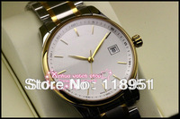 Holiday gift of choice! High quality sapphire waterproof calendar automatic movement steel men's watch new Swiss Business