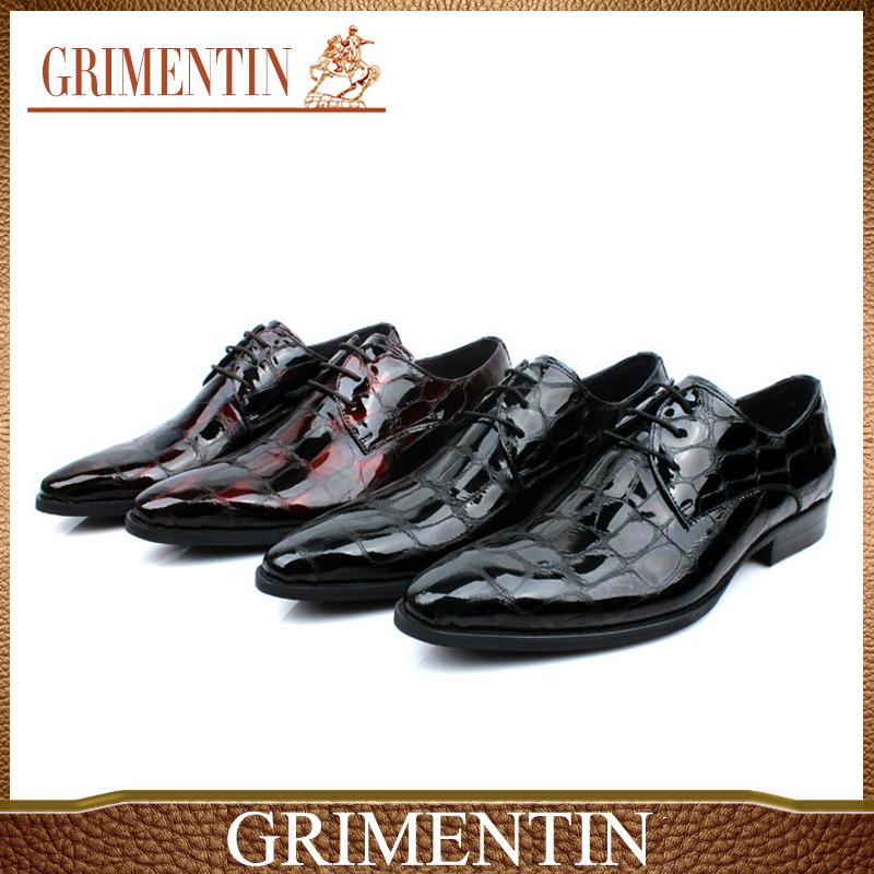 Versandkosten neuen 2014 hightop Qualität männer oxfords schuhe aus echtem leder lackschuhe geschäftliche leder shoes38-45