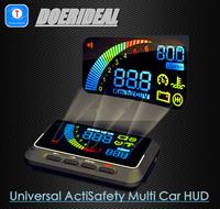 2014 Sale New 12v Mercedes Opel Peugeot Vw Car Hud Head Up Display Show Fuel Consumption Water Temperature Speed