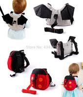 Best selling baby toddler anti lost bag ladybug/bat infant anti-lost band girl/boy anti wandered off child MINI bag backpack
