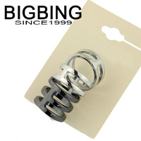 BigBing Fashion ring female card  finger ring jewelry punk accessories   S329