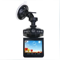 16G SD Card  720P Car Camera Recorder With Led Lights 2.4 Inch Screen 120 Degree Lens A198B