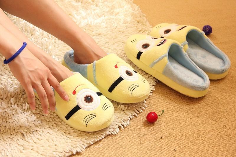 Cattivissimo Me 2 pantofole a casa, del latte prezo papà piano minion pantofole, scarpe da donna primavera e autunno minion