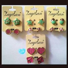 pink star earrings price