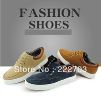 autumn winter platform fashion black blue brown For mens sneakers new 2013 shoes men casual discount online zapatos de hombre