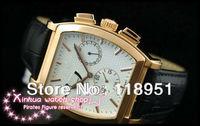 The new multi-functional mechanical movement sapphire calendar belt big dial Cask Swiss brand men's watch V23