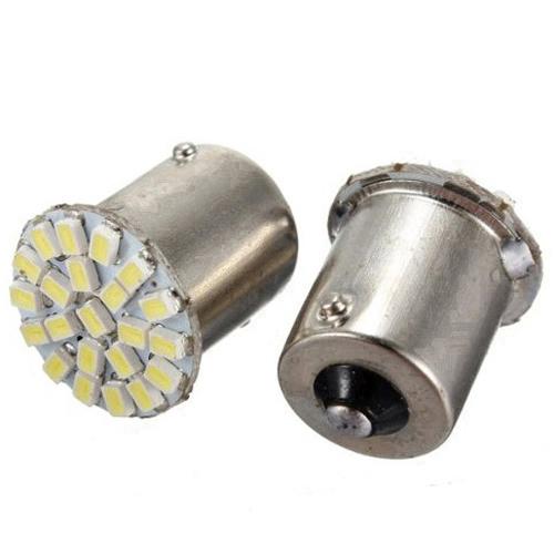 HotSale,10pcs/lot ,Car led lamp 1156 BA15S 22 LED 22 smd 22SMD Leds light 3020/1206 SMD turn signal reverse light(China (Mainland))