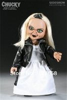 "HOT SALE SIDESHOW Bride Of Chucky Tiffany 14"" Doll Figure only 1pcs in stock"