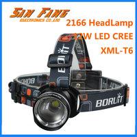 Real 1200 Lumens AA Battery Headlamp Cree XML XM-L T6 LED Zoomable Headlight Flashlight Head Lamp Camping & Hunting Lighting