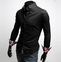 Free Shipping New Mens Slim Fit Stylish  Shirts
