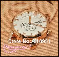 New Hot Multifunctional calendar hollow mechanical watches sapphire leather five luxury Swiss brand men's watch pointer
