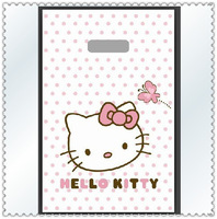 200pcs/lot Plastic bags wholesale small hello Kitty bag 13 x20cm boutique bags, gift bags Free shipping
