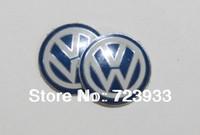 10 PCS 14mm VW Key Domed sticker Fob Remote BADGE VOLKSWAGEN GOLF GTI BORA PASSAT EMBLEM