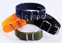 10pcs/lot 20MM Watch  Straps Waterproof Nylon Watch bands-4 Colors