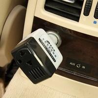 WorldCom car power adapter car phone charger Universal Car Power Inverter 12V/24V