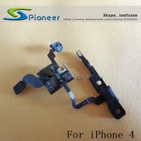 Original Proximity Light Sensor Power Button Flex Cable Parts for iPhone 4 4G iPhone4