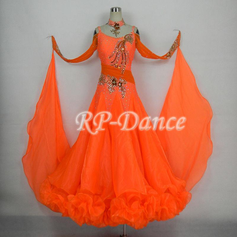 Платье стандарт для бальных танцев 282
