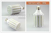 2pcs/lot High Brightness E27/E14/B22 18W 102LEDs SMD 5050 Corn Light Bulb Lamp Warm White / Pure White 220-240V/110V Free Ship
