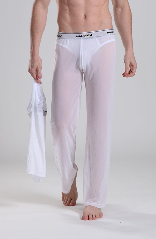 Прозрачные брюки девушек 7 фотография