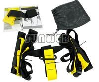 Training Fitness Equipment Spring Exerciser Hanging Belt Resistance Belt Set dropshippping 12309