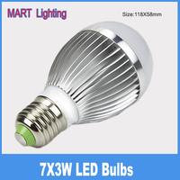 E27 21W  led light bubble ball bulbs lamp smd high power indoor lighting spot light lamps