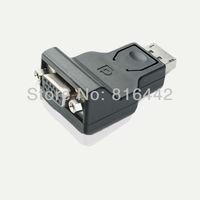 Free shipping 20pcs/lot High quality, DP to VGA Adapter, DisplayPort to VGA Converter