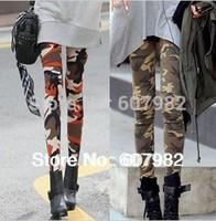Fashion 2014 Korean Leggings Woman Skinny Print Cotton Leggins Women Camouflage Leggings Pants Trousers Leggings For Women